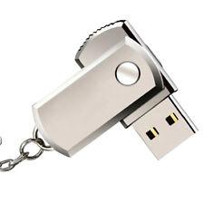 USB de acero inoxidable 2.0Pen Drive 2 gb Flash Drive Stick Flash con llavero_k