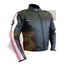 BMW 3874 PINK MOTORBIKE COWHIDE LEATHER MOTORCYCLE BIKERS ARMOURED JACKET
