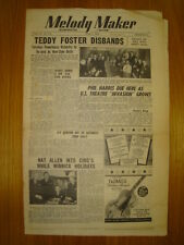 MELODY MAKER 1948 JUN 5 TEDDY FOSTER PHIL HARRIS JAZZ