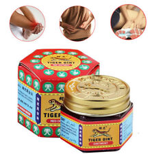 Sumifun TIGER Red White Balm Patch Thai Massage Ointment Relief Muscle Ache Pain