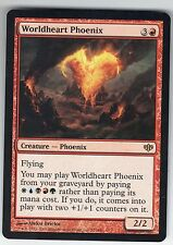 MTG Conflux Rare Worldheart Phoenix, M to NM, card has never been played.