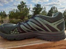 Salomon Mens X-Mission 3 Black Teal Mesh Trail Running Shoes Size 9.5 494726