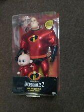 Jakk's Incredibles 2 Mr Incredible & Jack-Jack Action Figures
