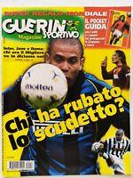 GUERIN SPORTIVO 18-2002 RONALDO TOTTI TREZEGUET RAVOT VERGASSOLA MARCELINHO