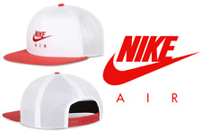 Nike Air Pro Red/White Unisex Snapback Caps Hats *NEW