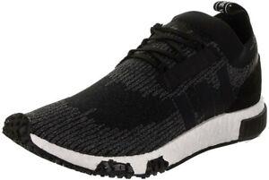 Adidas NMD Racer PK Primeknit Boost Black Grey Running Shoes Kicks 10 Mens