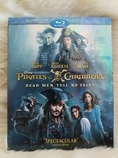 Pirates of the Caribbean: Dead Men Tell No Tales (Blu-ray/DVD, 2017, 2-Disc Set…