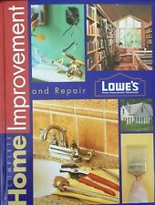 Lowes Complete Home Improvement And Repair Hardcover Book (2000)