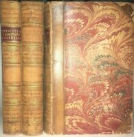 LEATHER Set;FERDINAND & ISABELLA! SPAIN HISTORY AMERICA(FIRST EDITION 1838!)RARE
