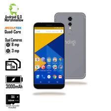 NEW 5.6-inch Android QuadCore 2SIM Fingerprint Access SmartPhone + 32gb microSD