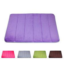 """Bathroom Room Carpets Rugs Memory Foam Bath Mat Carpet Floor Mats 24*15.7*0.4"""" Q"""