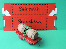 Hornby Collection Hachette Wagon transport de Tonneaux + Boite Echelle O