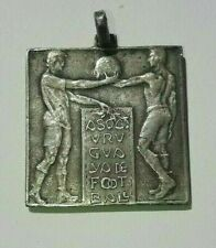 1916 Art Nouveau Original Uruguay Soccer Football National League Medal Peñarol