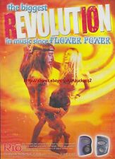 Rio The Digital Audio Music Player 2000 Magazine Advert #2891