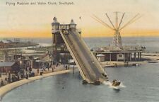 SOUTHPORT ( Lancashire) : Flying Machine and Water Chute- BOOTS-KINGSHEATH sm/r