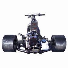 49cc Go Kart 30mph+ BLACK Racing Drift Trike 3 Wheel ScooterX FAST Drift Master