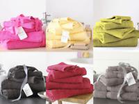 Luxury Towels Gift Bundle 8 Pcs Towel Bale Set 100% Egyptian Cotton 500 Gsm