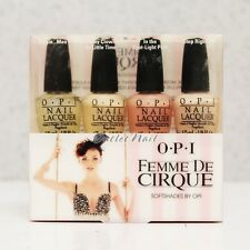 OPI MINI SOFT SHADES Famous Nail Lacquer Set 4 Kit - OPI Femme De Cirque