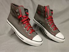 Converse All Star Grey Ankle Plimsolls Trainers Size UK 7 EU 40