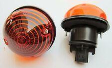 Pair Indicator Flasher lamp  for Land Rover Defender 90 110 130  12V
