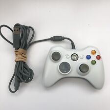 Official Microsoft Xbox 360 White Wired Controller