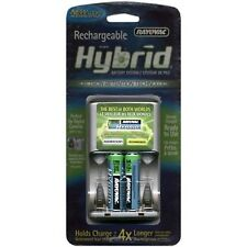 Rayovac Rechargeable Hybrid Charger 4 position AA/AAA Hybrid Battery Charger