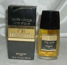 BOURJOIS OR MASCULIN AFTER SHAVE 50 ML SPLASH NEU OVP OHNE FOLIE