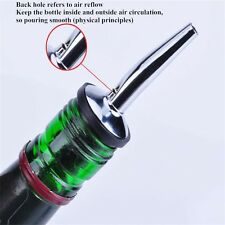 Stainless Steel Tapered Liquor Pourer Flow Wine oil Bottle Pour Spout Stopper
