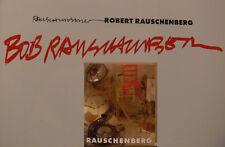 Robert Rauschenberg Buch Orig. signed signiert autograph Signatur Autogramm