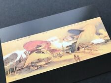 Disneyland 50th artist concept postcard Monorail Entry Tomorrowland 1954