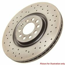 Rear Performance High Carbon Drilled Brake Disc (Pair) 09.7702.1X - Brembo Xtra