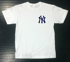 New York Yankees T-Shirt Graphic Ny Cotton Unixsex Adult Logo Jersey