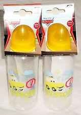 Disney Cars Feeding Bottles (Luigi ) 3 Mths + Bpa Free New