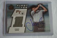 Jason Gore 2003 Upper Deck SP Game-Used 'First Tee' Autograph Shirt #2300