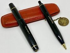 Vintage Kaweco Sport Set in Original Red Leather Pouch