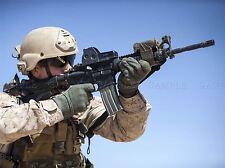Guerra Ejercito Soldado Pistola Rifle Marino objetivo Bala cartel impresión bb3376a