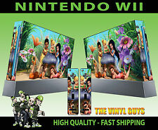 Nintendo Wii AUTOCOLLANT Tinkerbell and Friends fées PIXIES Skin & 2 Pad