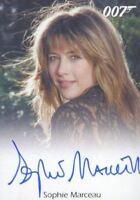 James Bond Autographs & Relics Sophie Marceau as Elektra King Autograph Card