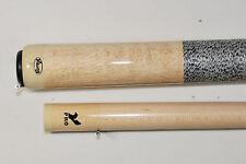 Viking Cue Billiards Natural Solid maple American made Irish Linen Wrap