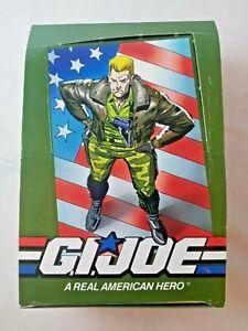 VTG 1991 IMPEL GI JOE GIJOE A REAL AMERICAN HERO TRADING CARD EMPTY DISPLAY BOX
