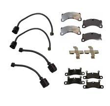 Porsche Cayenne 2011-2013 Disc Brake Pads Sensors and Clips Kit Textar / Genuine