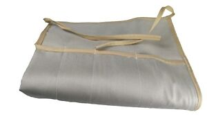 CLASSIC CLOTH BAG /ROD SOCK LIGHT TAN FOR A 9FT 4PC   UP TO 12WT FLY ROD