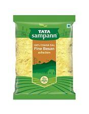 Tata Sampann Low Oil Absorb Besan Is Made From 100 % Chana Dal Fine Besan, 1kg