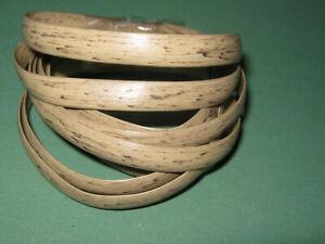 1m Replacement Wicker Repair Rattan Braid MIX DARK CREAM / BEIGE