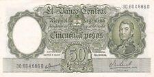 1955-68 Argentina 50 Pesos Note, Pick 271a