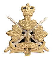 WW1 Canada Hunter Collection Hat Badge Bi Metal 1914-18