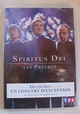 DVD SPIRITUS DEI - LES PRETRES - UN CONCERT D'EXCEPTION - NEUF