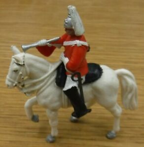 Britains blues & royals mounted farrier hand painted (c)