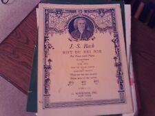 Bach: Bist Du Bei Mir, Draw Near to Me, low vocal - organ (Schirmer)