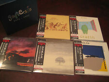 GENESIS HYBRID SACD/DVD JAPAN RARE LIMITED OBI 5 CD Replica LP Sealed Box Set